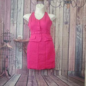 hugo buscati skirt halter outfit size 12 E16